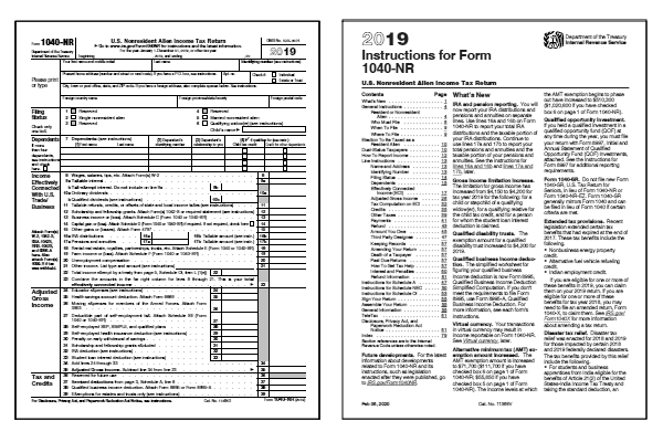 form 1040nr instructions  FREE 12 12NR Form and Instructions (12-NR)