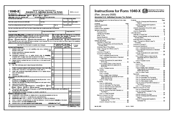 1040x form 2017  17 17X Form and Instructions (17-X)