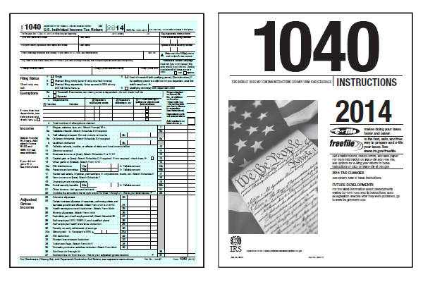 2014 federal income tax forms: free printable form 1040ez, form.