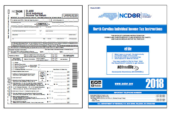 photo about Printable D&d Miniatures identified as North Carolina Tax Sorts 2018 : Printable Nation NC D-400