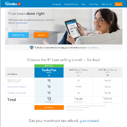 TurboTax Free Income Tax Software 2014