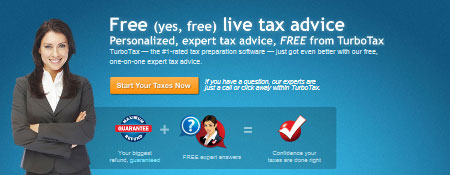Free Live Tax Advice
