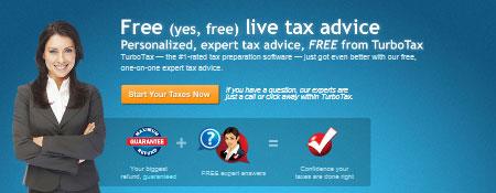 Free Live Tax Advice
