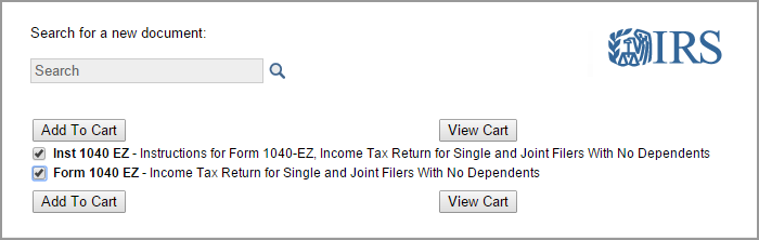 To Get Federal Income Tax Forms By Mail