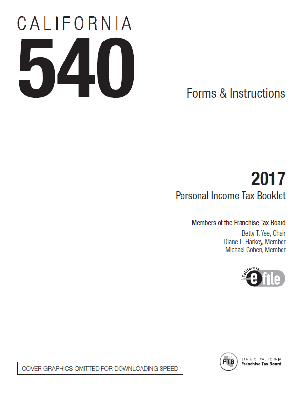 CA 540 Instructions 2017